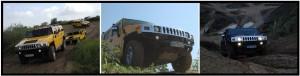 Hummer H2 Offroad fahren